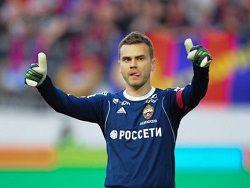 Акинфеев: у ЦСКА есть хорошие шансы на титул