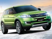 Китайцы выпустят  клон Range Rover Evoque втрое дешевле оригинала