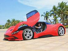Китаец построил суперкар менее чем за 5 000 долларов