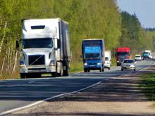 Регионам  разрешат  ввести плату за проезд   грузовиков