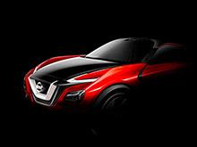 Nissan представит во Франкфурте свой новый кроссовер