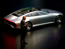 Во Франкфурте представили Mercedes, меняющий форму и похожий на