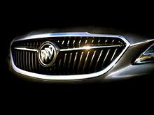Buick опубликовал первый тизер седана LaCrosse