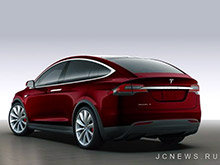 Tesla увеличила диапазон хода Model X