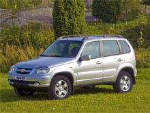 Chevrolet Niva перевели на стандарт Евро-5