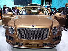 В Великобритании начался выпуск кроссовера Bentley Bentayga