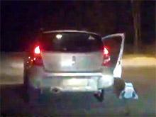 В Перми ребенок выпал из едущей машины (ВИДЕО)