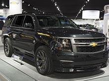 Внедорожник Chevrolet Tahoe получил в России