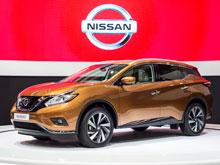 Завод Nissan  в Петербурге  начал собирать    кроссовер   Murano  нового поколения