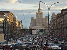 В Москве впервые этим летом зафиксированы  8-балльные пробки